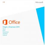 Office Hogar y Empresas 2013 32/64 bits Caja