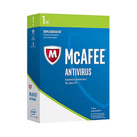 Antivirus Mcaffee 2017 3 pc's