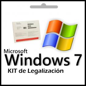 Licencia Kit De Legalizacion Windows 7 Professional