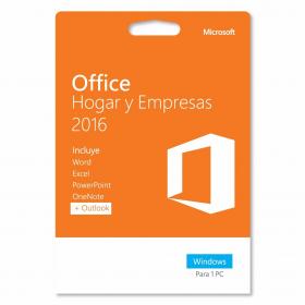 office 2016 hogar y empresas y/o windows 10