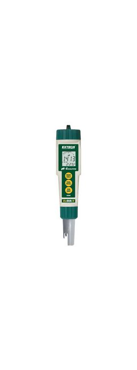 Medidor de conductividad/pH resistente al agua ExStik II EC500